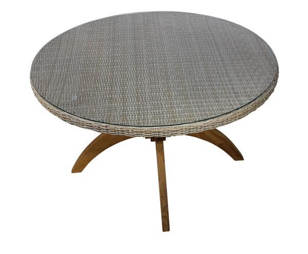 gartentisch korbm bel wetterfest guam bellagio mit. Black Bedroom Furniture Sets. Home Design Ideas