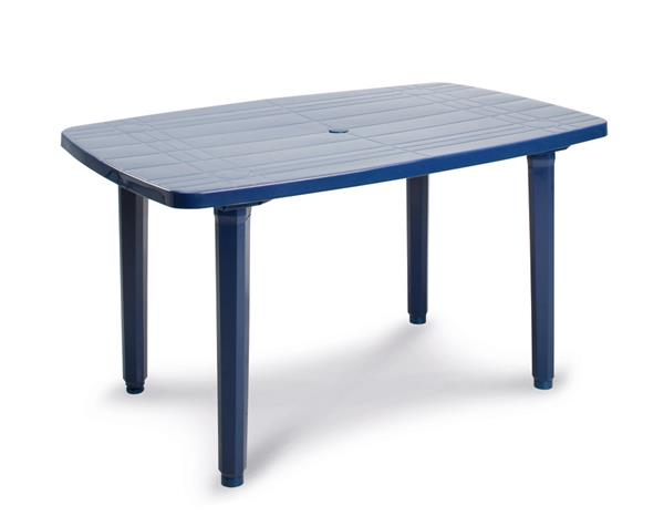 gartentisch festival best oval kunststoff blau 137x90cm ebay. Black Bedroom Furniture Sets. Home Design Ideas
