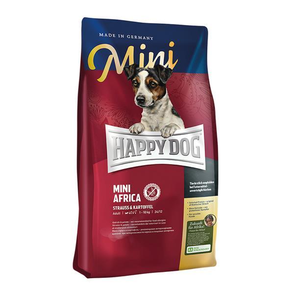 Hundefutter Trockenfutter Happy Dog Mini Africa 4kg Getreidefrei 273678