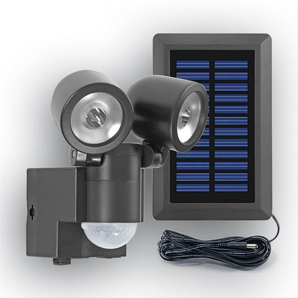 solar led spot gev lpl 858 mit bewegungsmelder schwarz 4011315000858 ebay. Black Bedroom Furniture Sets. Home Design Ideas