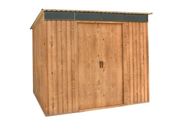 tepro metallger tehaus pent roof skylight 8x6 preisvergleich. Black Bedroom Furniture Sets. Home Design Ideas