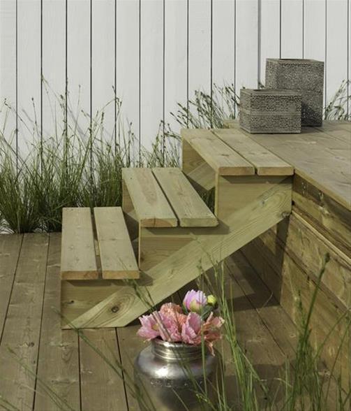 treppenwange f r 4 stufen plus massivholz druckimpr gniert. Black Bedroom Furniture Sets. Home Design Ideas