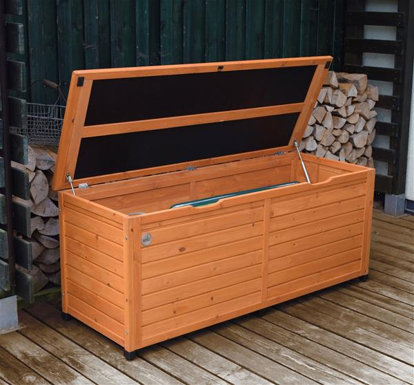 gartenbox kissenbox brightwood keter kunststoff 145x69 7x60 3cm ebay. Black Bedroom Furniture Sets. Home Design Ideas