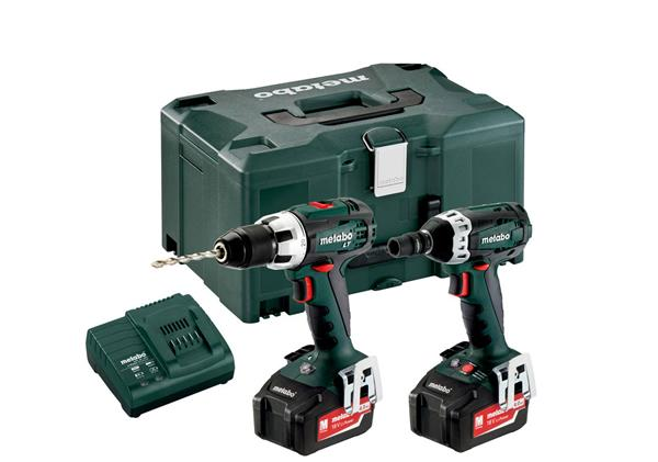 metabo akku bohrschrauber schlagschrauber combo set 2 1 2 18v ebay. Black Bedroom Furniture Sets. Home Design Ideas