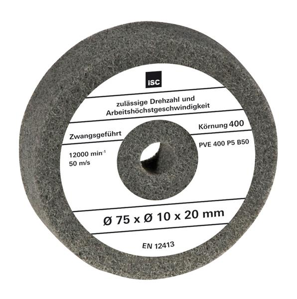 Glanzpolierscheibe Filz-Polierscheibe D 115mm x M14 schräg