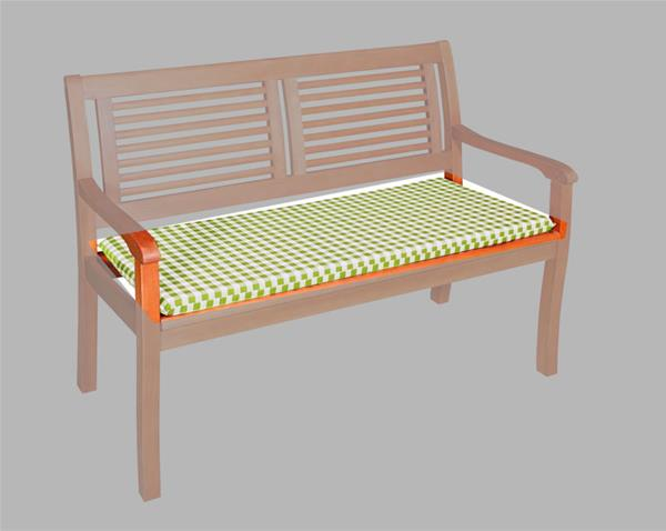 doppler auflage gartenbank 3 sitzer 150x48cm vivo des 6952. Black Bedroom Furniture Sets. Home Design Ideas