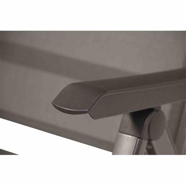 mwh gartensessel klappsessel elements alu anthrazit anthrazit ebay. Black Bedroom Furniture Sets. Home Design Ideas