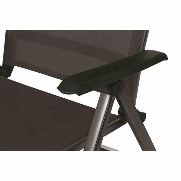 mwh gartenliege klappliege elements alu anthrazit anthrazit. Black Bedroom Furniture Sets. Home Design Ideas