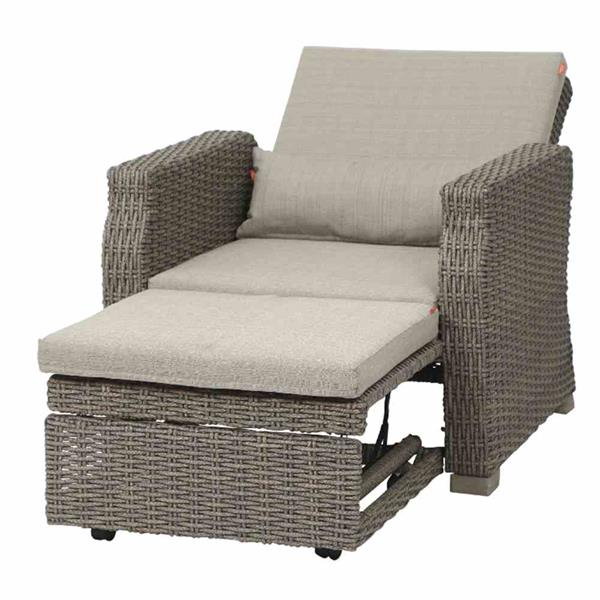 siena garden lounge sessel big seat veneto polyrattan sepia 4019111479236 ebay. Black Bedroom Furniture Sets. Home Design Ideas