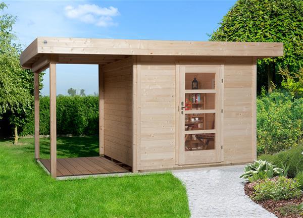 gartenhaus 28mm weka designhaus wekaline 172 gr 1 anthrazit 249x284cm ebay. Black Bedroom Furniture Sets. Home Design Ideas