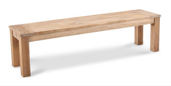 Gartenbank Moretti Best Teak 150x42cm grey-wash | eBay