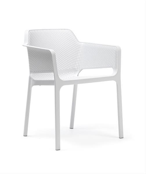 gartenstuhl gartensessel stapelstuhl ohio best kunststoff wei ebay. Black Bedroom Furniture Sets. Home Design Ideas