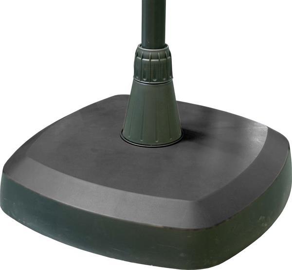 sonnenschirmst nder beton wei 20kg 21 54mm ebay. Black Bedroom Furniture Sets. Home Design Ideas