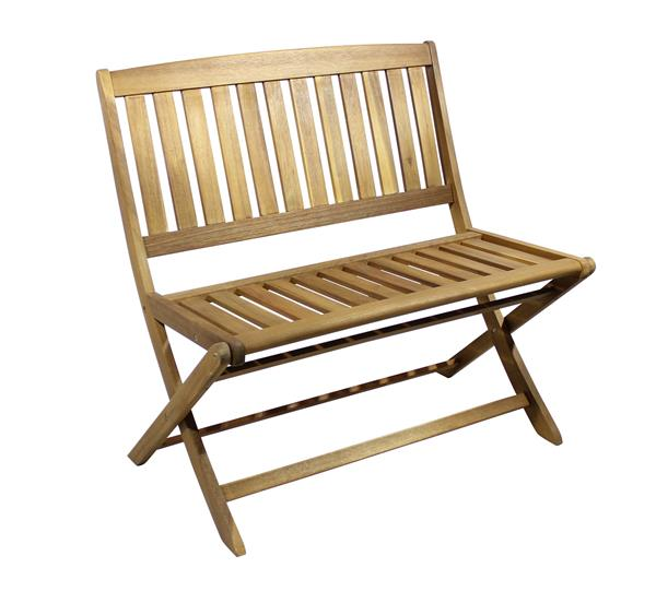 Gartenbank / 2-Sitzer Milo Gardissimo Akazie 90 cm | eBay
