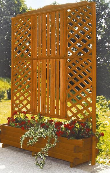 blumenkasten mit spalier arlberg 140x205x47cm ebay. Black Bedroom Furniture Sets. Home Design Ideas