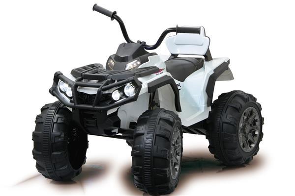 Quad Protector à enfourcher dans un véhicule pour enfants Jamara Electric, blanc