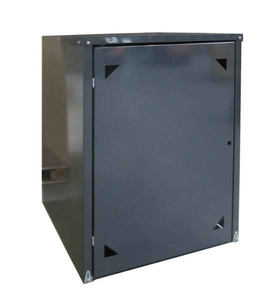 m lltonnenbox metall f r 2 m lltonnen mit pflanzwanne anthrazit ebay. Black Bedroom Furniture Sets. Home Design Ideas