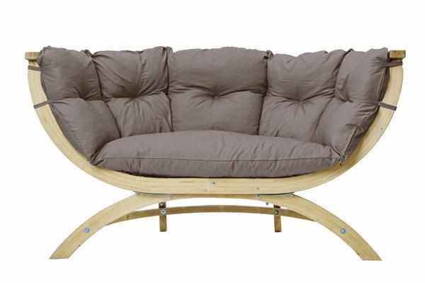 nardi gartenbank 2 sitzer lipari wei kunststoff stapelbar ebay. Black Bedroom Furniture Sets. Home Design Ideas