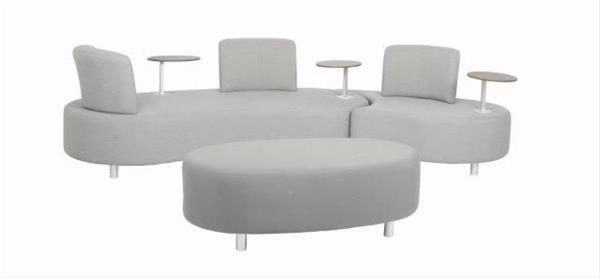 Gartenmobel Lounge Set Acamp Candy Aluminium Textil Grau