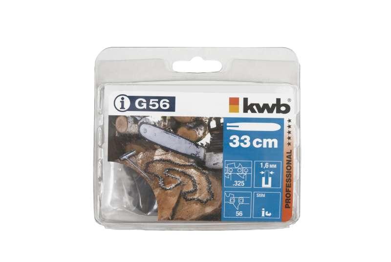 kwb Sägekette für Kettensäge G56 Typ 12-K-56 1,6 330 MMF Teilg.325 Bild 2