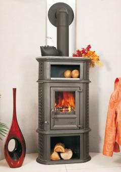 kaminofen globe fire herculina xl raumluftunabh ngig guss schwarz 7kw bei. Black Bedroom Furniture Sets. Home Design Ideas