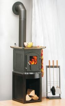 kaminofen globe fire pluto cooking raumluftunabh ngig guss schwarz 5kw bei. Black Bedroom Furniture Sets. Home Design Ideas